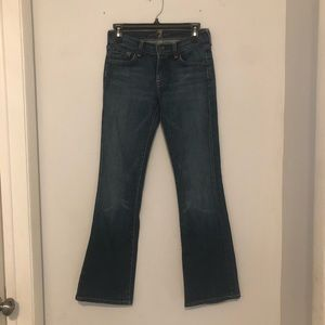 7 For All Mankind Flare Jeans Size 26